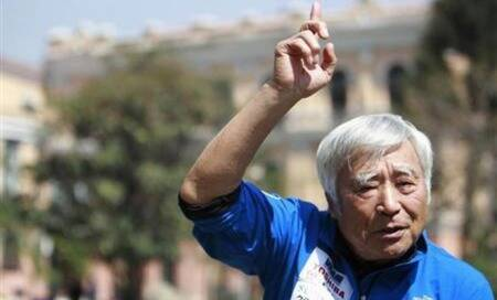 Japanese octogenarian becomes oldest person to scaleEverest