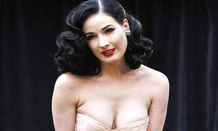 Dita Von Teese is a beauty product junkie
