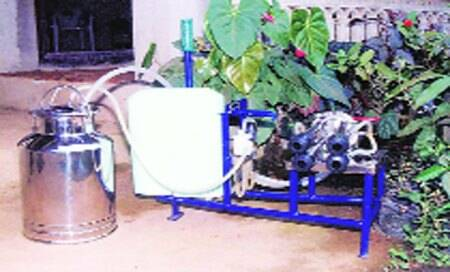 NIF pitches in to give milking machine aboost