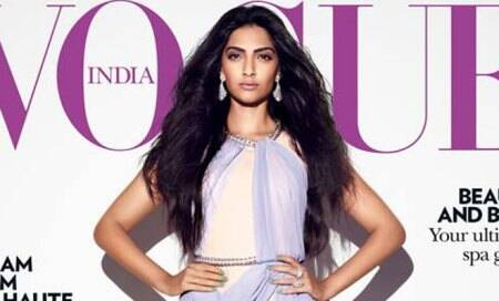 Sonam Kapoor dares to bare on Voguecover