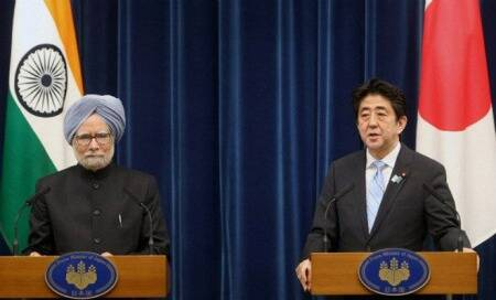 India warned by China's Communist Party daily over Japan ties as Manmohan Singh returns