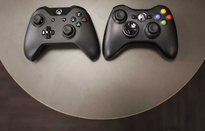 Xbox One Controller Back The new xbox one controllerXbox 1 Controller Back