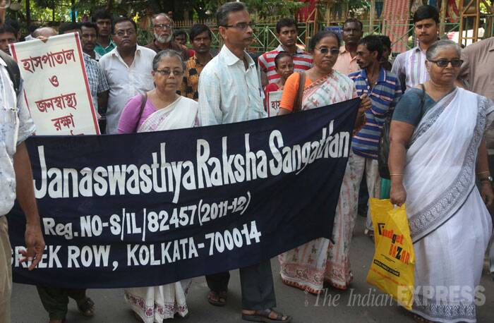 Kolkata Infant death protest