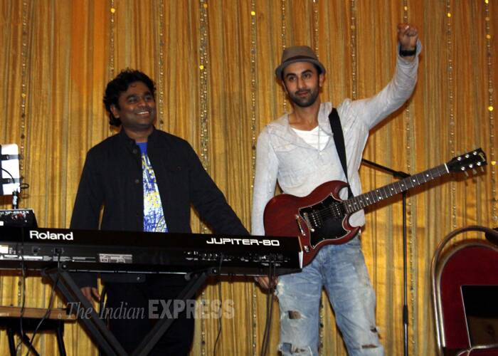 "Ranbir Kapoor revealed that he lived with a Jat family in Pitam Pura and ""studied their mannerisms"" to prepare for his role. He also learnt to play the guitar and practised extensively at A.R. Rahman's studio. (Express archive photo)"