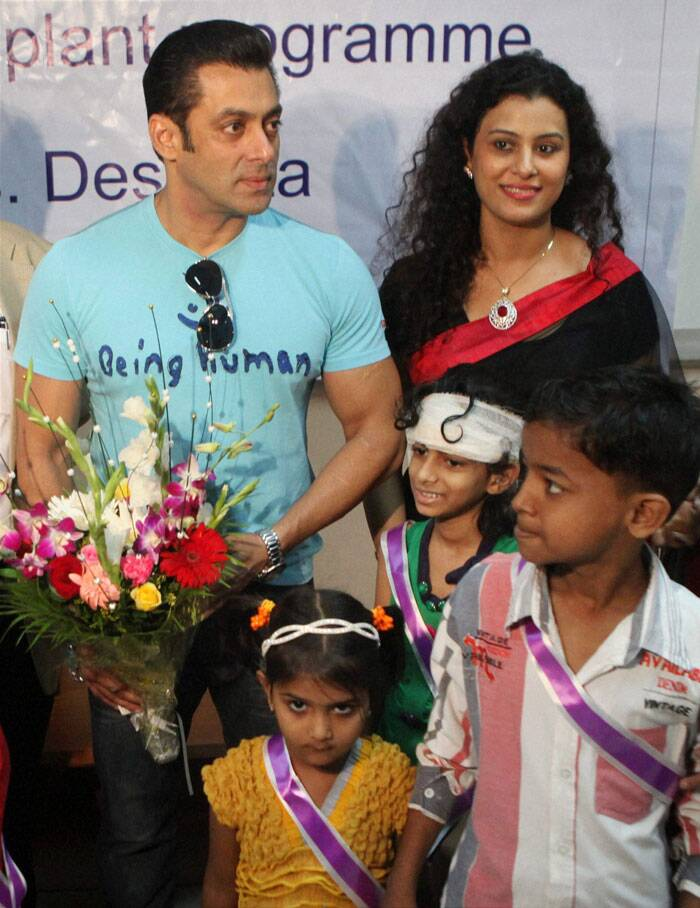 Salman Khan And Children | in pictures salman khan s ...
