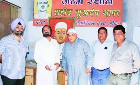 Martyr Sukhdev Thaper's house opened after more than ayear