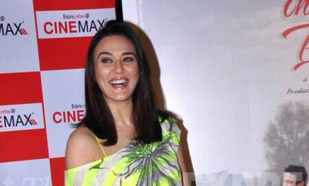 After IPL and Ishkq in Paris,Preity Zinta heads for avacation