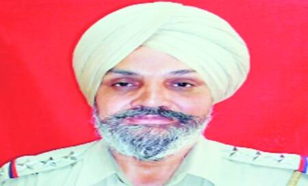 Sucha Singh was to fly to Canada with son on Friday,his leave was notsanctioned