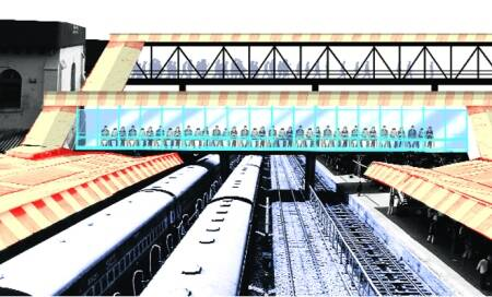 A facelift for Bijwasan,Anand Vihar railway stations,on King's Cross'lines