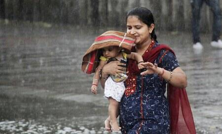 Weather turns balmy in north India as showers slash temperatures