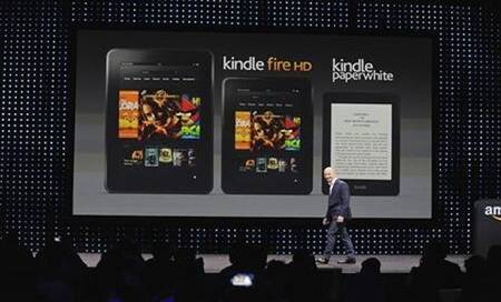 Amazon to launch Kindle products Fire and Paperwhite inIndia