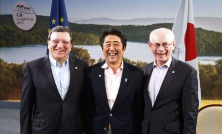 Japan says G8 stance is sign of approval for 'Abenomics'