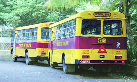 Two weeks after schools re-opened in city,800 private buses still ply without permit