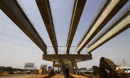 Growth in eight core infrastructure industries slips to 2.3%