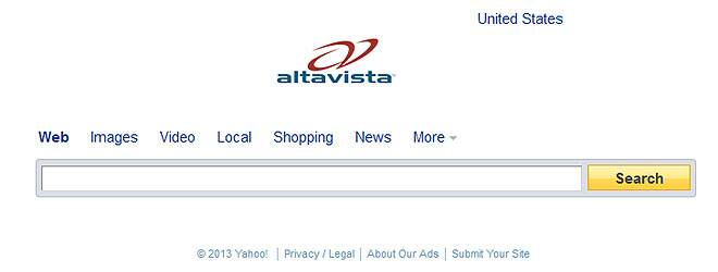 AltaVista? What was that again?