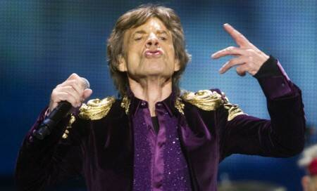 Lock of Mick Jagger's hair sells for 4,000 pounds atAuction