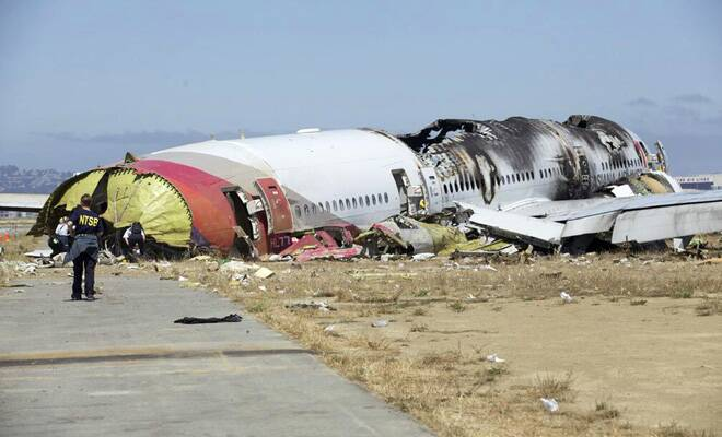 The Nepal plane crash claimed 18 lives. (AP)