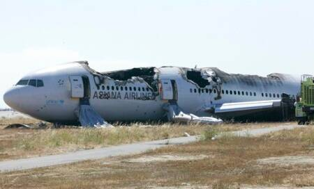 'It was boom!' inside crashing plane in SanFrancisco