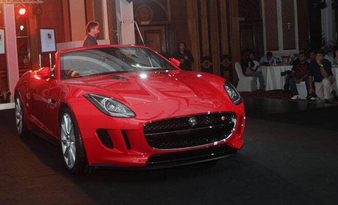 Bad Cars in India f Type Sports Car in India