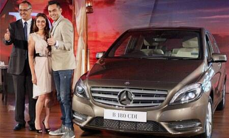 Mercedes-Benz launches diesel engine-equipped version of B-Class