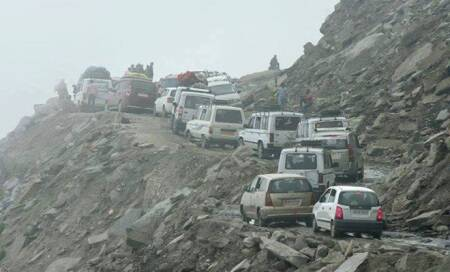Overnight rains block Badrinath highway