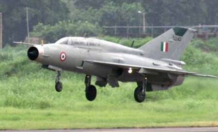 IAF's MiG-21 fighter plane crashes in Rajasthan,pilot killed