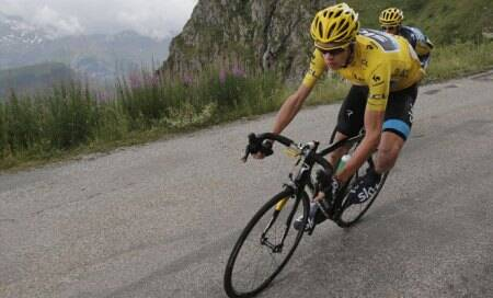 Tour de France: Riblon wins stage 18 as Chris Froome suffers low-sugarscare