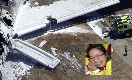 Chinese teen in Asiana crash killed by fire truck that ran over her:Coroner