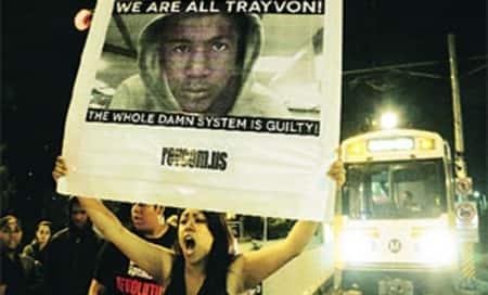Vigils held across US over Trayvon Martinverdict