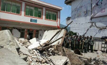 Death toll in China's earthquake rises to94