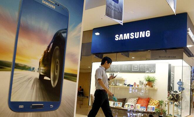 Samsung Electronics posts record profit,mobile growthdips
