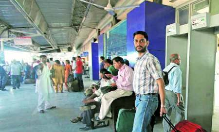 Railway station: Security devices not functioning,entry notrestricted