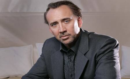 Being angry is a waste of time: NicholasCage