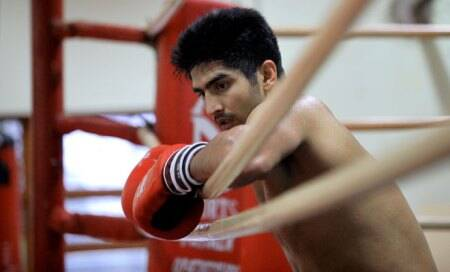 Eye on World Championships trials,Vijender Singh heads back to train in Patiala