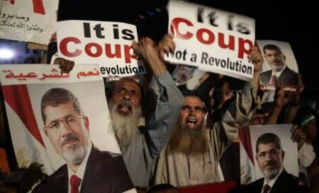 Egypt allows EU envoy to see deposed Mohamed Morsi