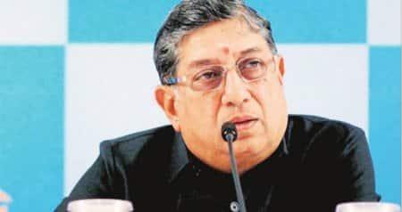 Dissent muted,decks clear for N Srinivasan's return as BCCIchief