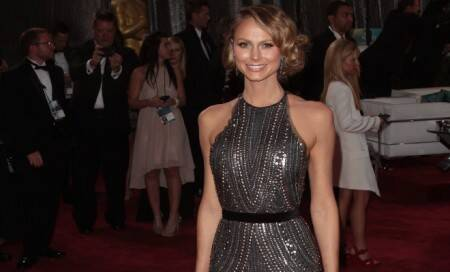 Stacy Keibler goes on Europeanholiday