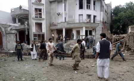 Suicide blast near Indian Consulate in Afghanistan's Jalalabad kills 8 children