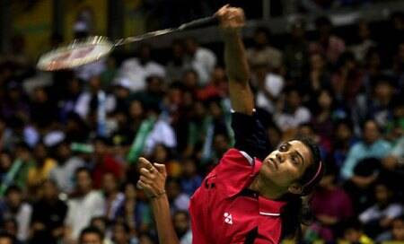 PV Sindhu,Parupalli Kashyap record upsets,join Saina Nehwal in quarterfinals