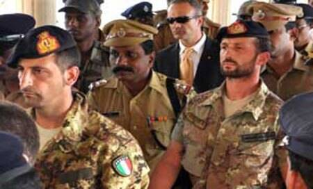 Italian Foreign Minister vows to do everything to bring back marines from India by Christmas