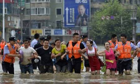 Death toll reaches 72 as floods continue to create havoc inChina