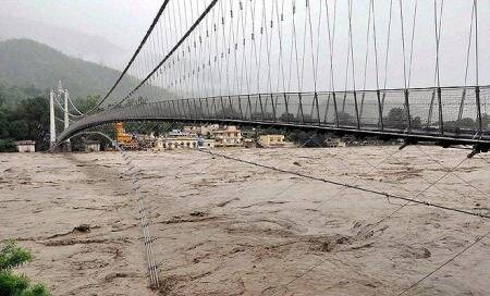 Woman washed away in cloudburst,rains lash Uttarakhand