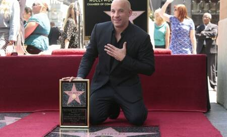 Vin Diesel receives Hollywood Walk of Fame accolade