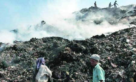 Denied landfill sites,civic body in a bind