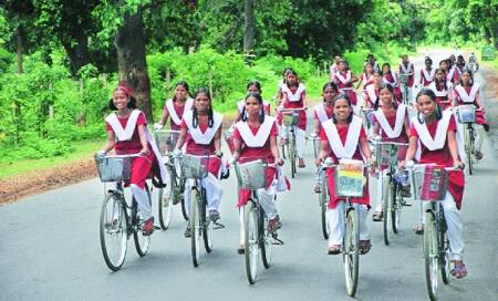 Question of height makes ride bumpy for free Chhattisgarh cycles