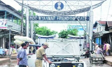 Manipur border fencing sites inspected after alleged intrusion by Myanmartroops