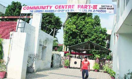 Nursery school turned into 'community centre' in Aggar Nagar colony