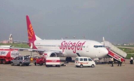Smoke emanates from SpiceJet flight with about 70 passengers on board