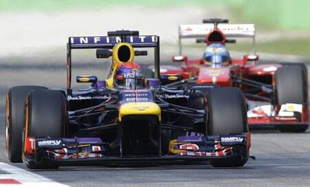 Formula One: Red Bulls set practice pace atMonza