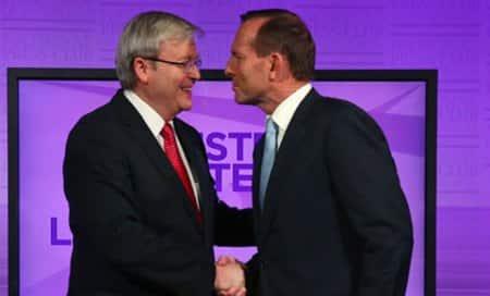 Conservative leader Tony Abbott expected to win Australianelection